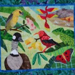 Nancy Brown animal quilt art