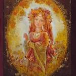Lacquer miniature artist Yulia Danilina