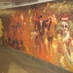 Mosaic mural by Eric Fischl