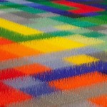 Color Field, Museum of Contemporary Art, San Diego, California, detail