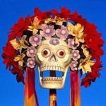 Mask Dia de los Muertos in Mexico