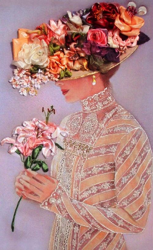 Tetiana Korobeinyk Ribbon Painting Art Kaleidoscope