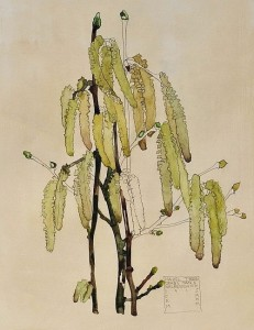 Hazel. Charles Rennie Mackintosh. Copy. Painting by Moscow based Elina Forget-me-not