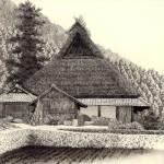 Japanese etching artist Tanaka Ryohei