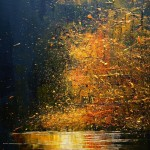 Landscape painting by Justyna Kopania