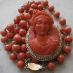 Bacchante necklace. 1860
