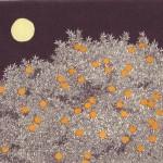 Etching by Japanese artist Tanaka Ryohei
