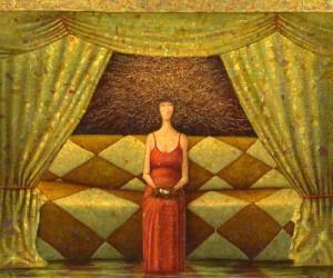 Painting by St. Petersburg based artist Alexey Ezhov