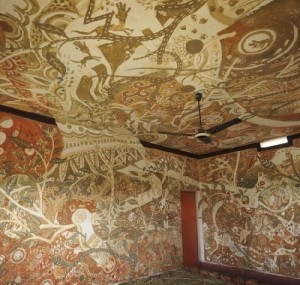 Wall art Festival at The Niranjana Public Welfare School, Bakrour (Sujata village) Bodhgaya, India
