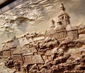 Woodcarving by Viktor Dubovik