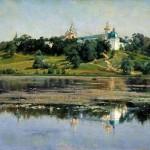 Russian landscape painter Konstantin Kryzhitsky