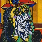 'Weeping Woman' by Pablo Picasso, 1937. Model Dora Maar