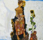 Russian artist Olga Larionova