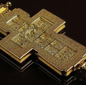 Cross with decorations – Archpriest premium