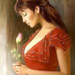 Female portrait by Andrei Markin