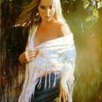 Female portrait by Andrei Markin