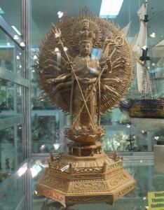 Buddha's sculpture made from Gemstones