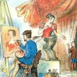 Book illustrator Alexey Reypolsky