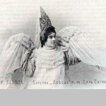 Nadezhda Zabela-Vrubel as Swan Princess 1900