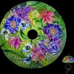 Painting on glass Ulla Darni