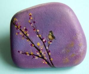 Painting on stones Yana Khachikian