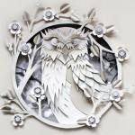 Paper artist Helen Musselwhite