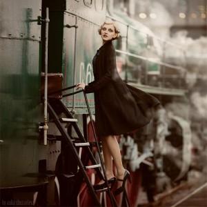 Departure. Photography by Anka Zhuravleva