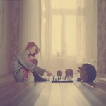 Chess. Photography by Anka Zhuravleva
