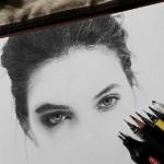 Hyperrealistic pencil drawing by Ashraf Malique
