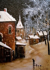 Oil painting by Ufa based artist Mikhail Petrov