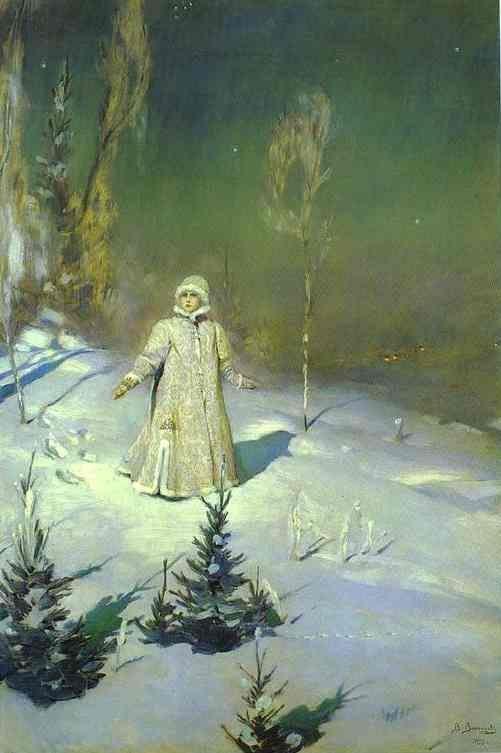 Snowmaiden. 1899 painting by Viktor Vasnetsov