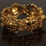 A variation on the ancient Byzantine jewelry, bracelet