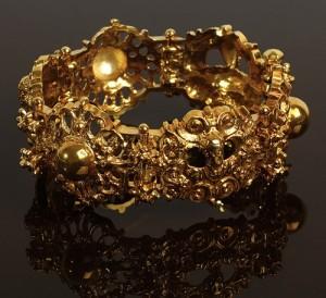 A variation on the ancient Byzantine jewelry, bracelet