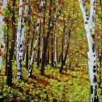 Painting trees Sumit Mehndiratta