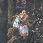 Fairy tale happiness by Vasnetsov