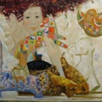 Painting by St. Petersburg based artist Olga Larionova