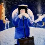 Russian artist Mikhail Petrov
