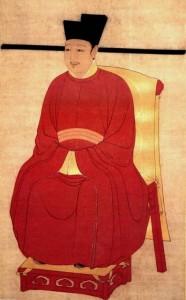 Portrait of Emperor artist Zhao Ji