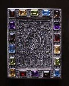 Unique precious relief icons