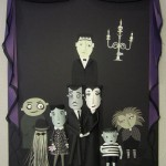 Addams Family Paper illustrations by Glam