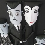Addams Family Paper illustrations by Portugese artist Glam