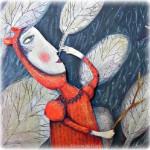 Artwork by paper artist from Brazil Juliana Bollini