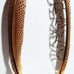 Feather cutting art by Chris Maynard