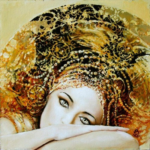 Black Woman Oil Painting