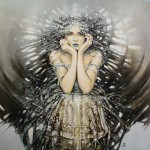 Polish painter Karol Bak