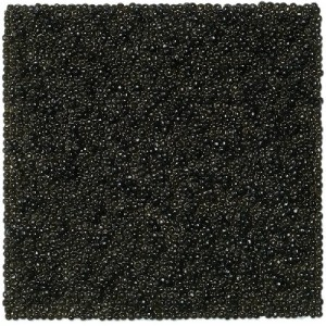 Kazimir Malevich's 'Black Square' 1923. Most recognizable picture of Russian theme and of course caviar to implement ideas