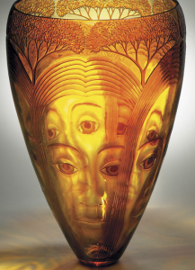 Engraving on glass by Kevin Gordon
