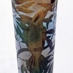 Beautiful bird - Glass art by Kevin Gordon