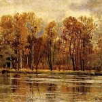 Golden autumn. Russian artist Ivan Shishkin