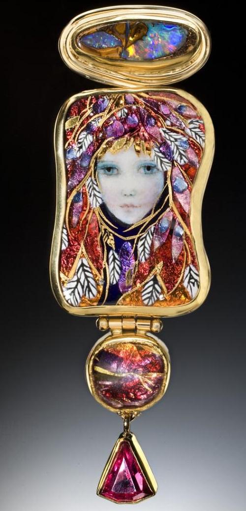Handcrafted Enamel By Jewelry Artists Mona Amp Alex Szabados